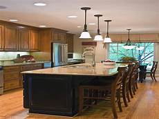 kitchen center islands with seating five kitchen island with seating design ideas on a budget