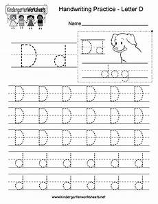 letter d worksheets 24203 letter d writing practice worksheet this series of handwriting alphabet worksheets can also be