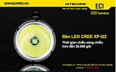 bad len led đ 232 n pin nitecore ec1 330 lumens cree xp g2 r5 đ 232 n led