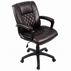 ergonomic home office furniture giantex ergonomic pu leather mid back executive computer