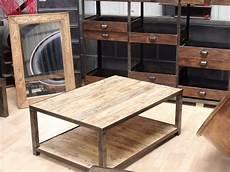 fabriquer sa table basse palette design table