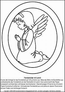 Fensterbilder Weihnachten Vorlagen Zum Ausdrucken Engel Weihnachtliche Fensterbilder Engel 2 Medienwerkstatt