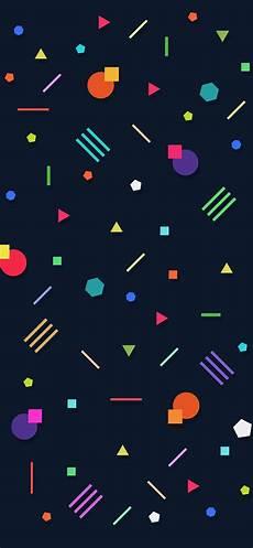 Iphone Xs Wallpaper Geometric