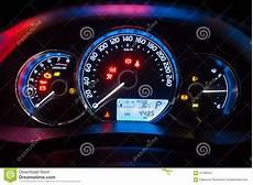 panneau moderne de tableau de bord d instrument de voiture