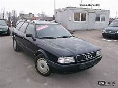 free online auto service manuals 1992 audi 80 user handbook 1992 audi 80 avant 2 0 e car photo and specs