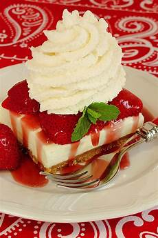 strawberry cheesecake dessert with special crust wicked