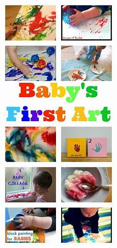 brilliant ideas for baby first art baby toddler