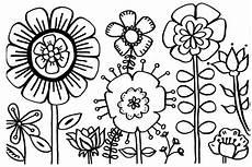 Ausmalbilder Zum Ausdrucken Garten Fr 252 Hlingsblumen Ausmalbilder Schablonen Dekoking