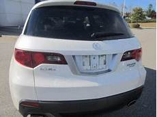 export used 2010 acura rdx technology package white on gray