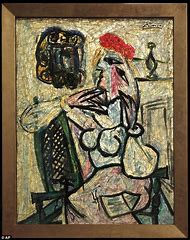 Woman with Hat Pablo Picasso Paintings