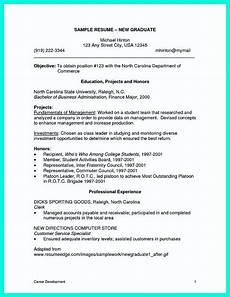 resume template for colege graduates no experience cool sle of college graduate resume with no