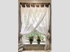 Simple Farmhouse Window Treatments   Farmhouse window