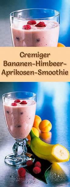 bananen himbeer aprikosen smoothie rezept zum smoothies