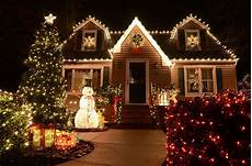 Decorations For Outside Of House by Residential Light Displays In Rock Ar