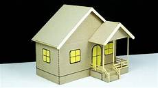 how to make cardboard house beautiful diy home making