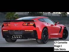 c7 corvette stage 1 carbon fiber z06 side skirts ebay