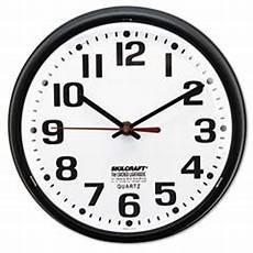 White Quartz Black Wall Clock by 6645013897958 Slimline Quartz Wall Clock 9 1 5 White