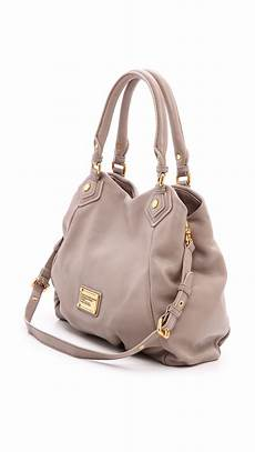 marc by marc classic q fran bag cement in gray lyst