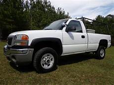 find used 2006 gmc sierra 2500hd air conditioning cruise purchase used 2006 gmc sierra 2500 hd 4x4 regular cab pickup 6 0l gas n mississippi no reserve