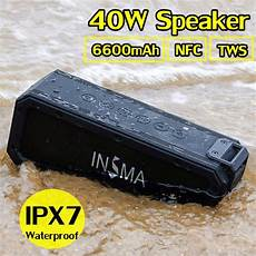 Insma S400 Plus Bluetooth Wireless Stereo by Insma S400 Plus Portable True Wireless Stereo Bluetooth