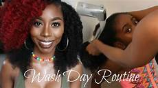 our wash day routine youtube