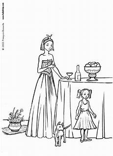 Ausmalbilder Prinzessin Hund Princess And Coloring Pages Hellokids