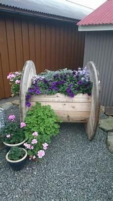 Kabeltrommel Diy Garden Decor Pallets Garden Diy Garden