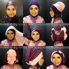 Model Jilbab Kebaya Terbaru Untuk Pesta Tunangan Atau