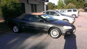 Buy Used Chrysler Sebring LXi 2002 Convertible 2 Door 27L