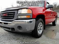 how does a cars engine work 2006 gmc sierra 2500hd user handbook used 2006 gmc sierra 1500 reg cab 133 0 quot wb 4wd work truck for sale in eighty four pa 15330