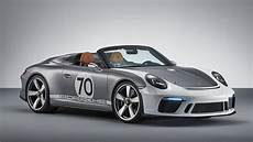 2018 Porsche 911 Speedster Concept Top Speed