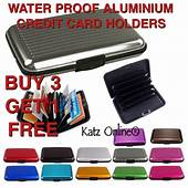 Katz New Aluminium Credit Card Holder Security Wallet