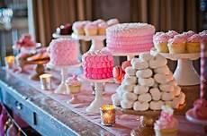 deliciously pink dessert table wedding dessert