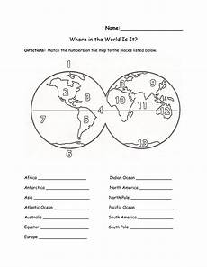 label continents oceans worksheet continents and oceans worksheet free maps of the world