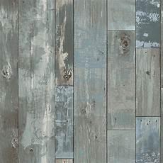 tapete holzoptik verwittert 2540 24053 deena blue distressed wood wallpaper