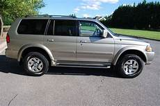 automotive air conditioning repair 2001 mitsubishi montero sport auto manual find used 2001 mitsubishi montero sport limited 3 5l v6 4x4 low miles no reserve in