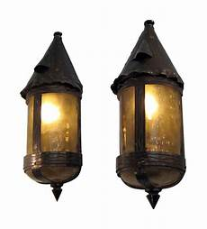 arts crafts bronze copper sconces olde good things
