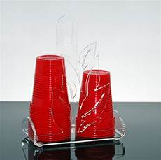bicchieri in plexiglass portabicchieri di plastica zinnia slato eshop plexiglass