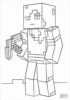Aquarell Malvorlagen Minecraft Minecraft Coloring Pages Coloringbay