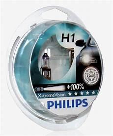 philips set h1 x treme vision 100 12v 55w len neu ebay