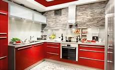 Kleine Küche Kaufen - rassiges rot regiert die welt kombiniert mit verblendern