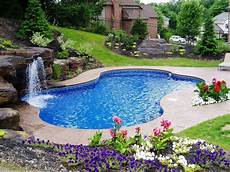 30 great inground swimming pools with waterfall and