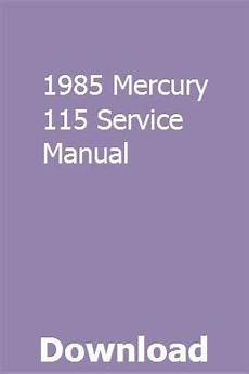 free online car repair manuals download 1985 mercury lynx seat position control 1985 mercury 115 service manual repair manuals new holland tractor auto body repair