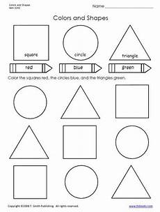 colors shapes worksheets 12808 colors and shapes worksheet for primary grades