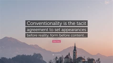 Conventionality
