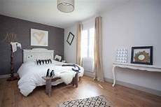 farben schlafzimmer wände maltechnik schwamm mit grauer farbe im schlafzimmer home