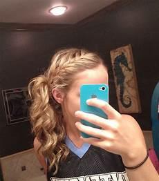 basketball hair softball basketball cheer hair pinterest