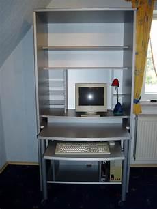 Schreibtisch Im Schrank Integriert - computer schreibtisch schrank neuwertig in eschelbronn
