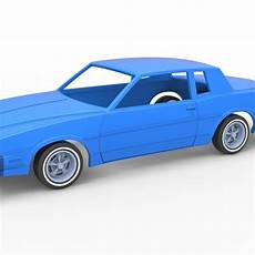 free download parts manuals 1986 pontiac grand prix security system download 3d print files diecast shell and wheels pontiac