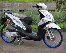 Modifikasi Motor Beat New by Foto Modifikasi Motor Beat Yang Simple Sederhana Bagus